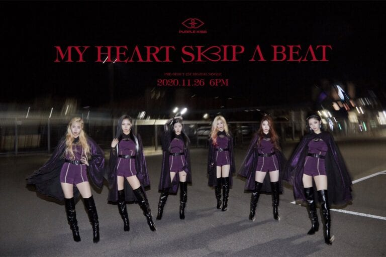 PURPLE KISS – My Heart Skip a Beat (Performance) MV