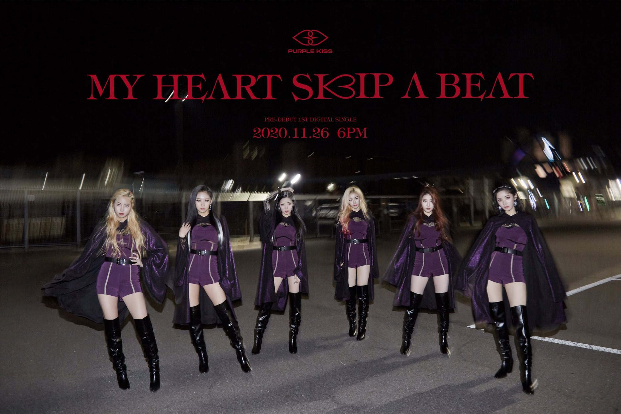 Purple Kiss My Heart Skip A Beat Performance Mv Kpop In The U S They debuted on september 21st. beat performance mv kpop