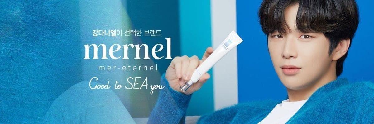 Mernel Selects Kang Daniel as Brand Ambassador